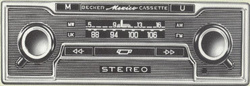Becker Mexico Olympia (később Mexico Cassette), az első integrált kazettás magnetofonos autórádió