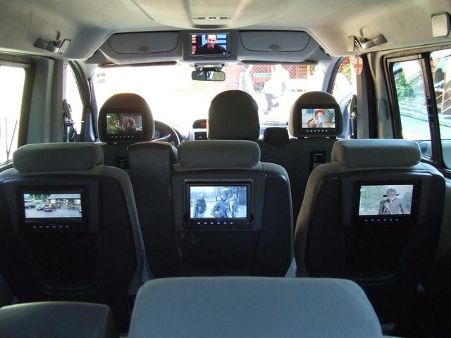 Mindenki nézheti a saját filmjét, a monitorokhoz csatlakoztatott fejhallgatókkal nm zavarják egymást az utasok