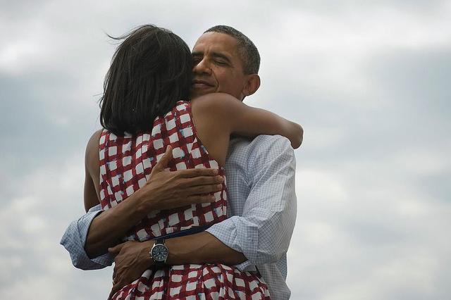 obama facebook foto