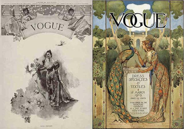 Az első Vogue 1892-ből