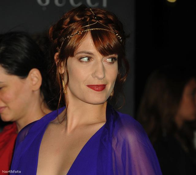 Florence Welch, a Florence + The Machine énekesnője