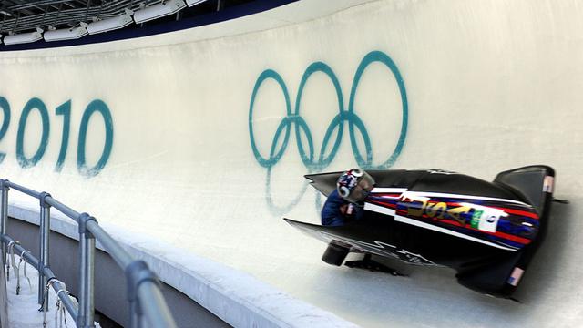 Az amerikai kettesbob-csapat a 2010-es olimpiai játékokon