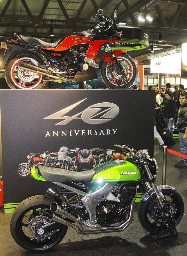 40 éves a Kawasaki Z családja