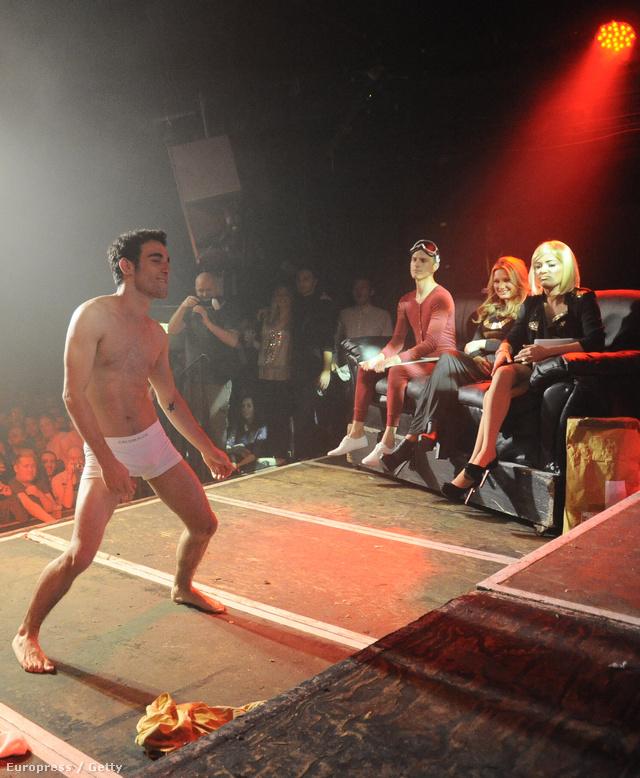 """Porn Idol"" rendezvény a londoni G-A-Y klubban"