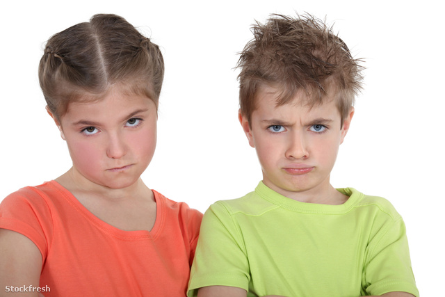 stockfresh 2111317 upset-brother-and-sister sizeM