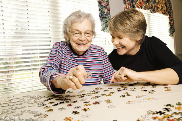 stockfresh 5626 elderly-woman-and-younger-woman-doing-puzzle siz
