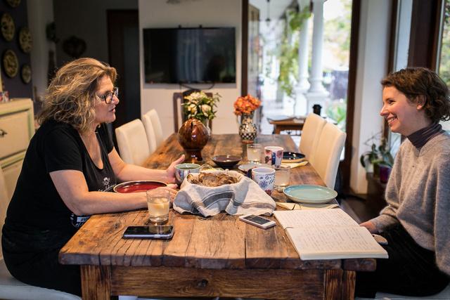 Gabi számára éppen olyan fontos az énidő, mint a kenyérsütés, hiszen feltöltődés nélkül nem tudná szenvedéllyel folytatni a munkáját.