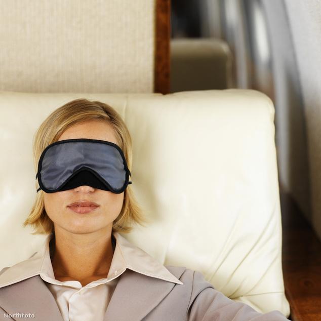 A csendben alvó utasok nem sok vizet zavarnak