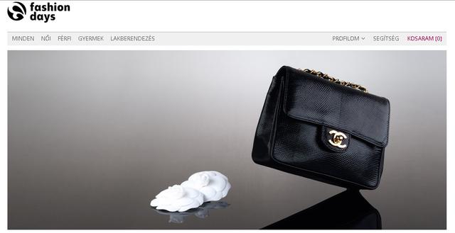 Alapesetben nem lehet Chanelt vásárolni az interneten.