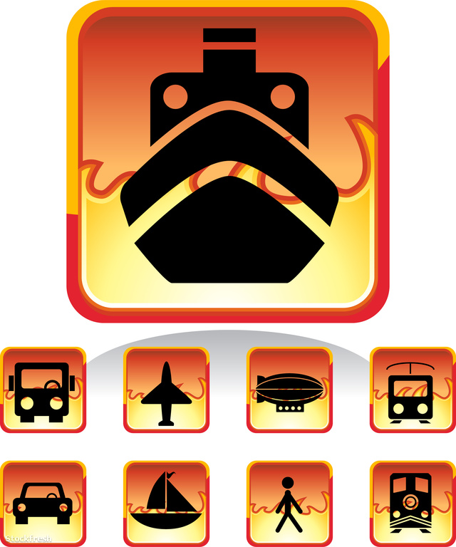 stockfresh 508976 transportation-buttons---fire sizeM