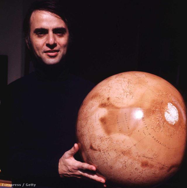 Carl Sagan, asztronómus, a küldetés tervezője