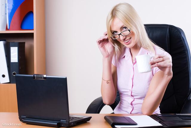 stockfresh 2223332 business-woman-with-laptop sizeM
