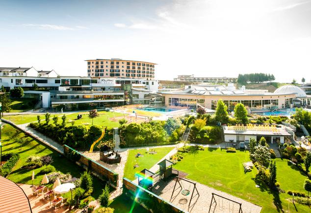 Allegria Hotel és a központi termálfürdő