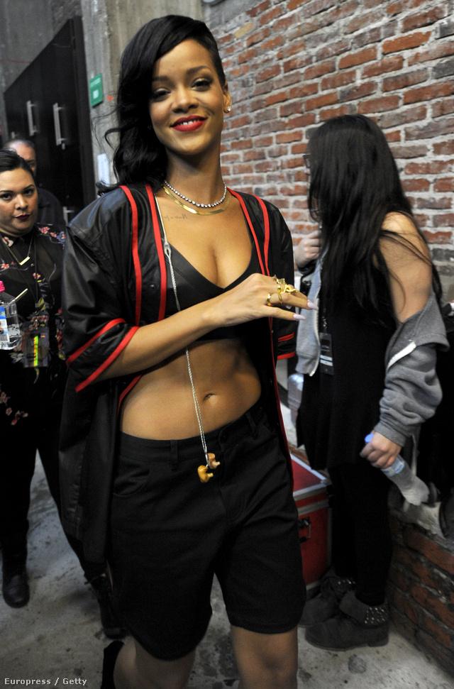 Rihanna Mexico Cityben