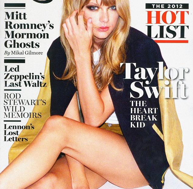 Taylor Swift a Rolling Stone októberi címlapján