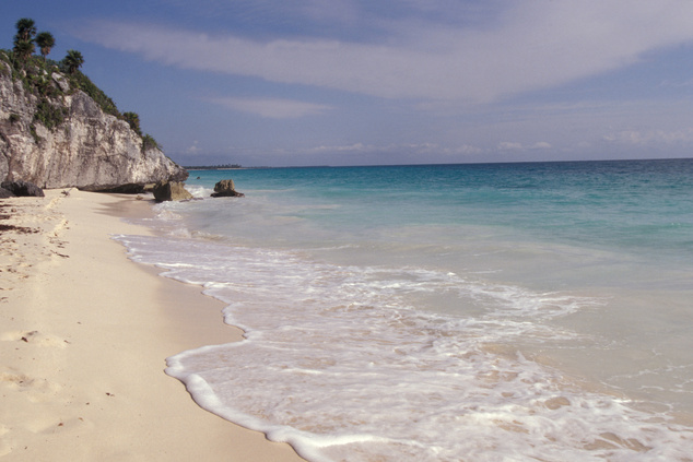 Tulum tengerpartja