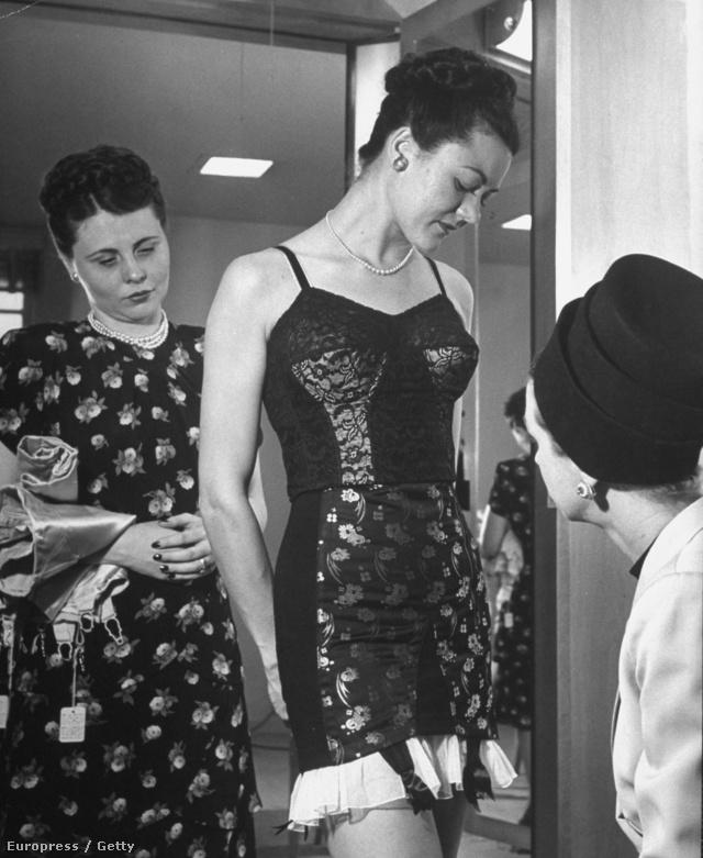 Fehérnemű modell, varrónő és olajmágnás feleség a negyvenes években.