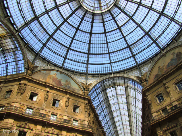 Galleria Vittorio Emanuel II, Milánó