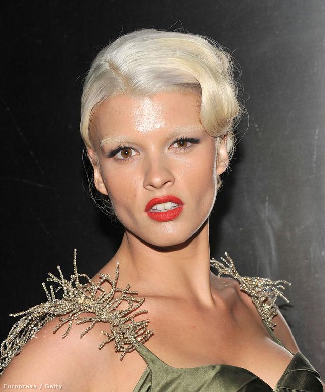 Crystal Renn modell úgy néz ki, ahogy az ügynökei és a megrendelők akarják: a kiszőkített szemöldök azonban még neki se áll jól.