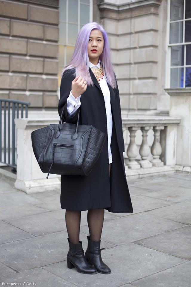 Caroline Kan divatbloggerként dolgozik, így került 2012 februárjában a londoni divathétre
