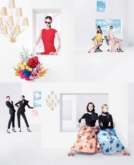 A Dior tavaszi-nyári kampányképét  Willy Vanderperre lőtte.