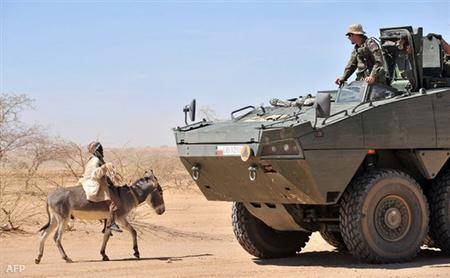 Lengyel katona a sivatagban