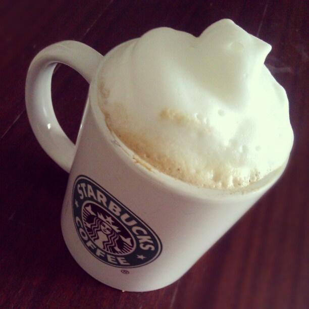 A másik sztár, a Starbucks kávé