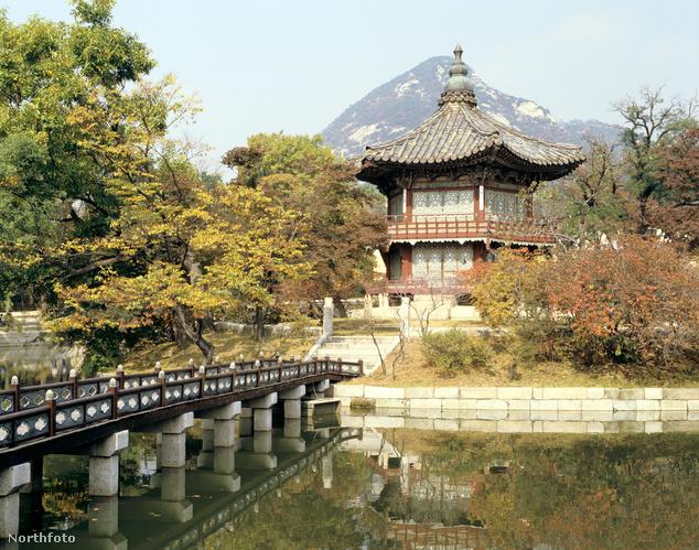 Gyeongbokgung palota, Szöul, Dél-Korea