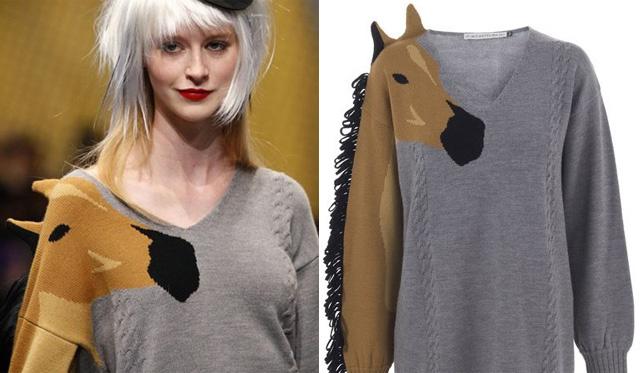Castelbajac-féle lovak