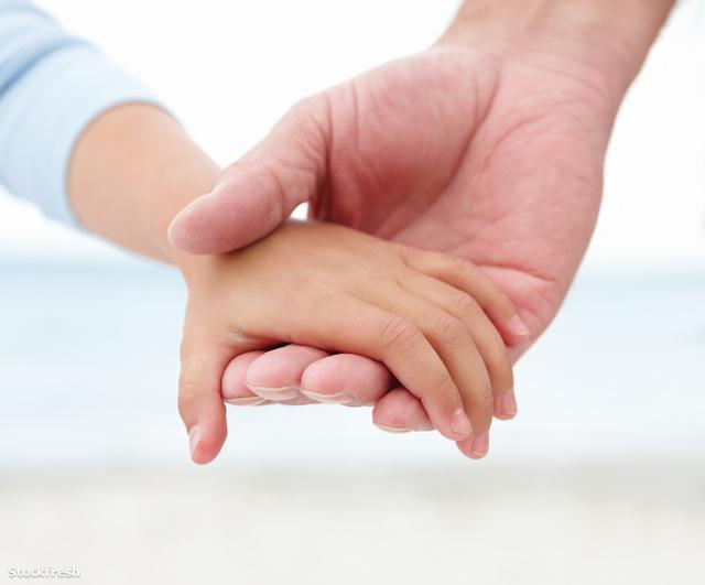 stockfresh 38464 old-man-holding-small-girls-hand sizeM