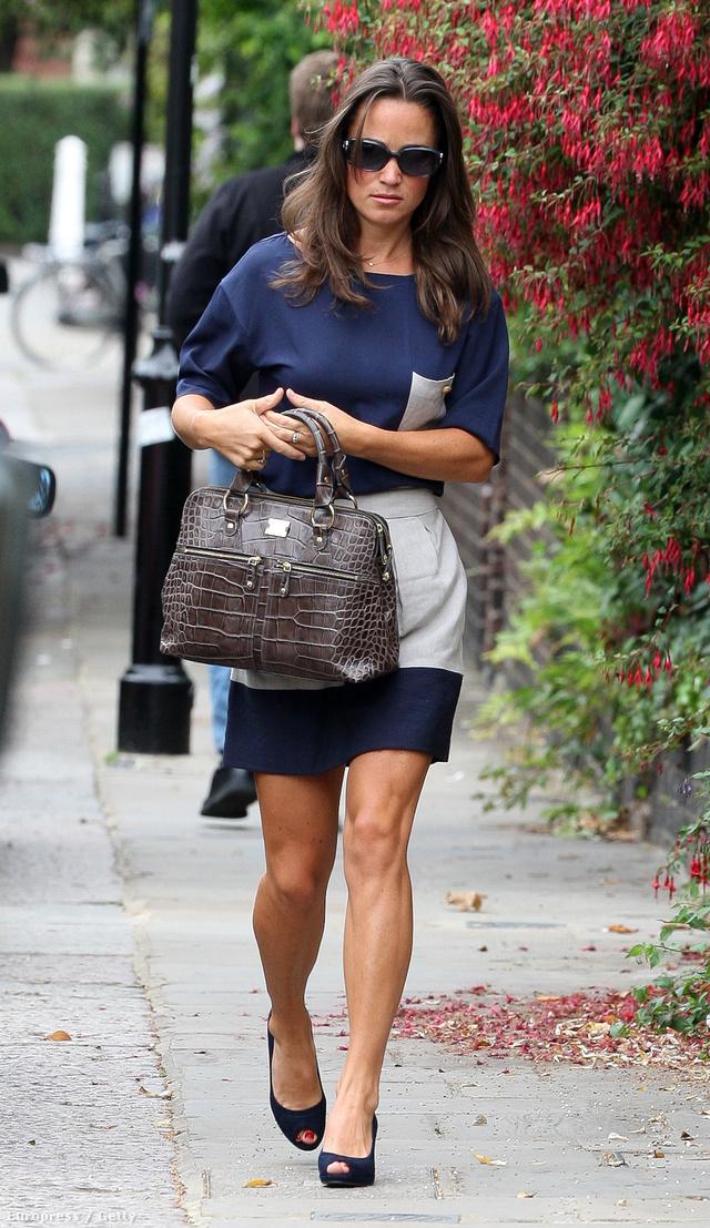 Pippa Middleton és a táskája