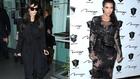 Kim Kardashian átlátszó ruhákban terhes