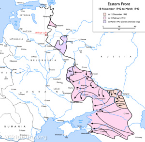 A keleti fron 1942. őszétől 1943 tavaszáig - kattintson!
