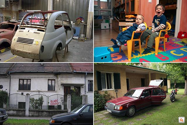 2005-2006: Puch szemre már készen Kecskeméten, Norbi is megérkezik a családba, veszünk egy romos házat, Hans, a kombi, akiben eleinte nagyon hittem, aztán vegytiszta gyűlölettel használtam