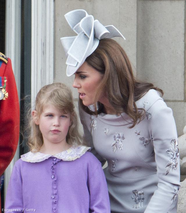 Vajon mit súgott Katalin hercegné Lady Louise-nak?