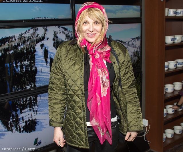 Courtney Love a Sundance filmfesztiválon