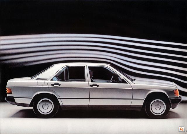 Mercedes 190 198302