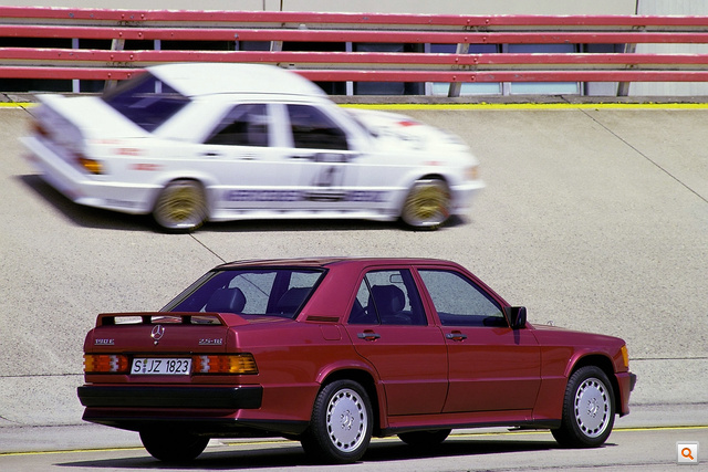 Mercedes 190E Cosworth 20