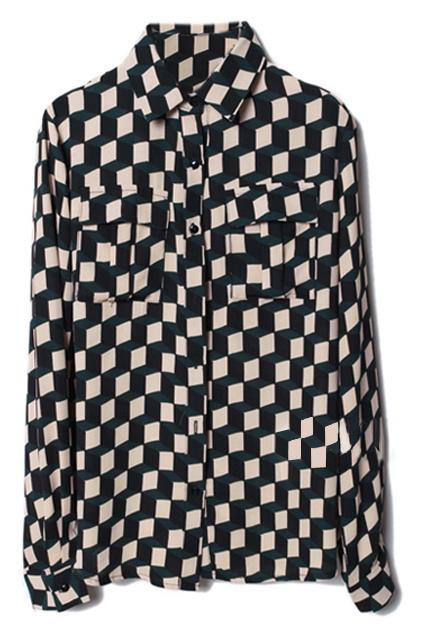 A Romwe már ráérzett a kockás trendre: ez az ing 54 dollárért rendelhető Magyarországra is (12 ezer forint)