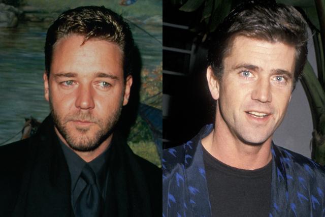 Gladiátor: Russell Crowe, Mel Gibson