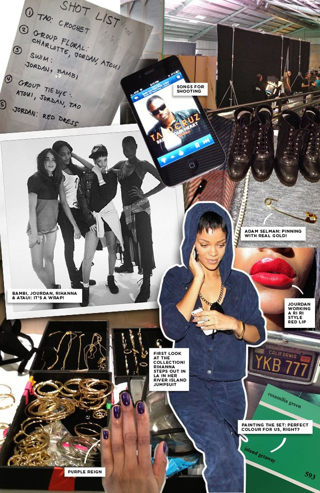 Tavaly decemberben Los Angelesben forgatott a márka reklámot Rihannával, ezt közölték a forgatásról