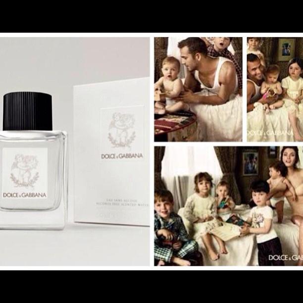 Ezt posztolta Stefano Gabbana: büszke a bébi-parfümre