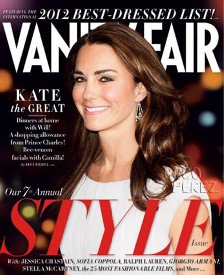 Kate Middleton, 2012 legjobban öltözött híressége