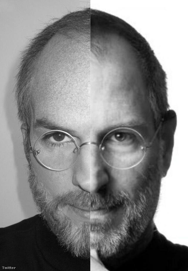 Kutcher arcfele balra látható