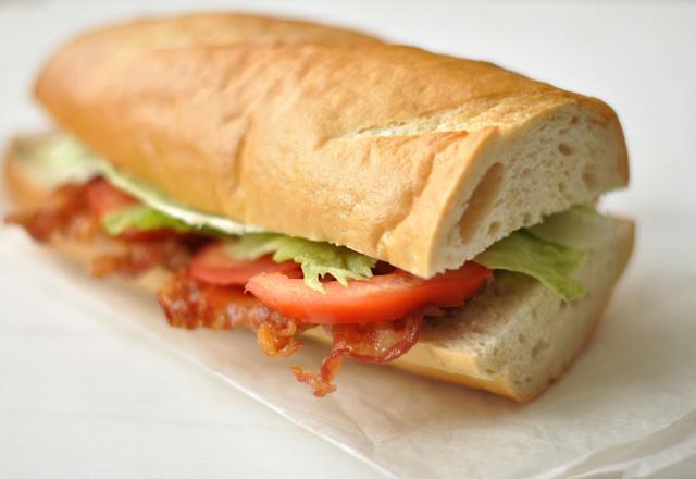 A szendvicsek Brad Pittje
