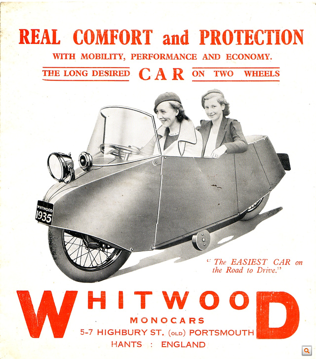 whitwood monocar page 1