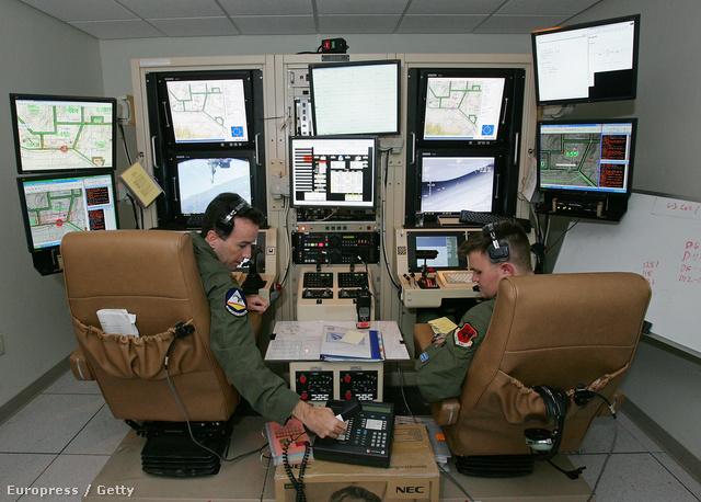 Drónirányító terem