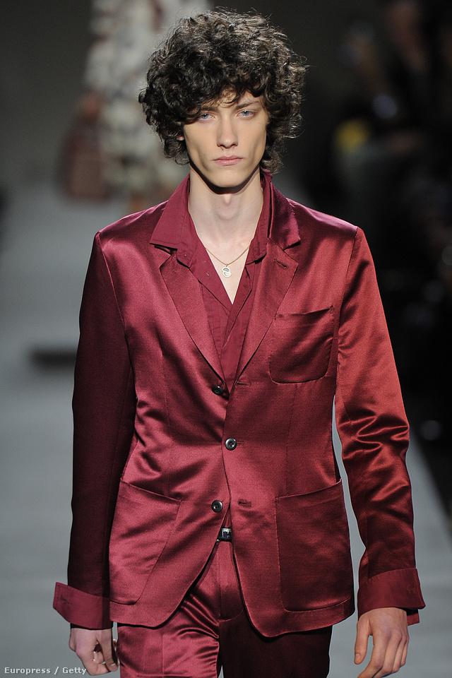 Pituk Kristóf exkluzív modellként szerepelt a  Marc by Marc Jacobs show-n