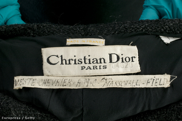 Dior címke 1948-ban