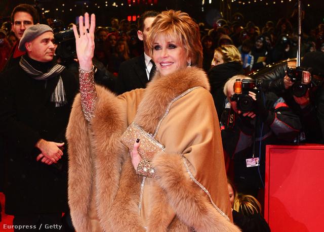 Jane Fonda a The Grandmaster című film premierjére készül a Berlinálén